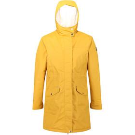 Regatta Rimona Wasserdichter Isolierter Mantel Damen mustard seed